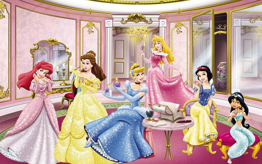 Disney Prensesleri Duvar Kağıtları | Kız Çocuk Odası Duvar Kağıdı | İstanbul