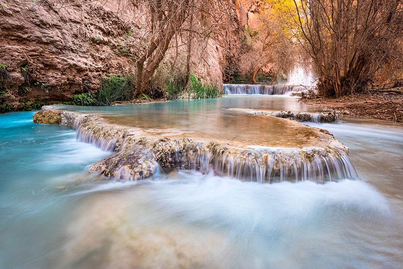 3D Nehir Duvar Kağıtları | En Kaliteli Manzara Duvar Kağıtları | Duvar34.com