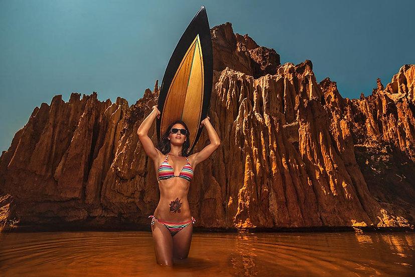 3 Boyutlu Manzara Duvar Kağıtları | Bikini Moda Tanıtımı Duvar Kağıtları