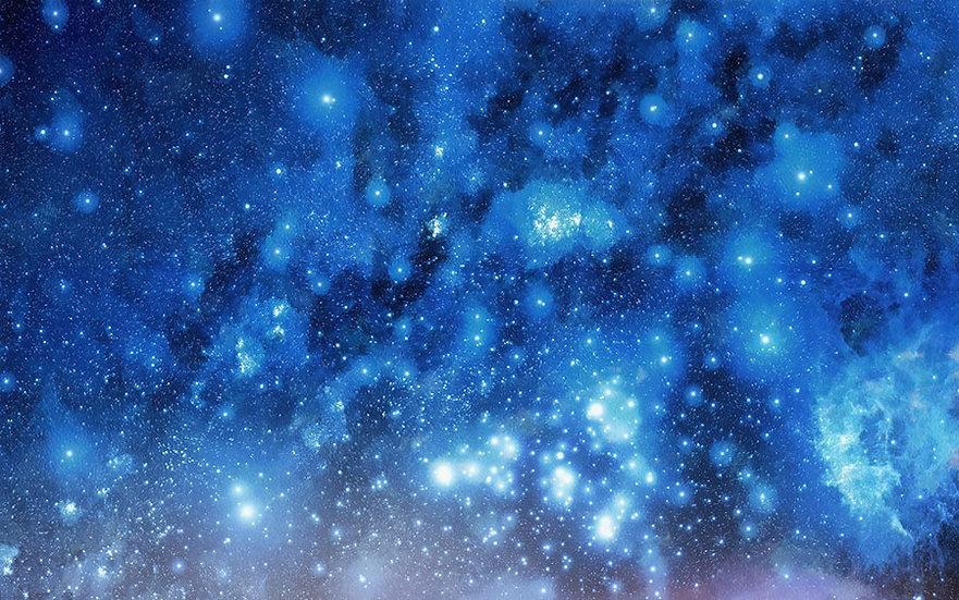 Dokulu atmosfer Nesne Duvar Kağıdı | 3D Gökyüzü Yıldızlar Duvar Kağıtları