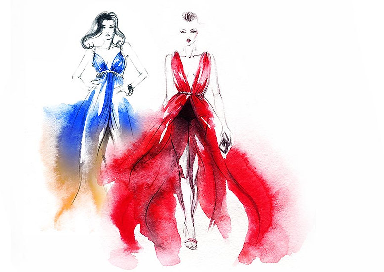 3 Boyutlu Moda Duvar Kağıtları | HD Moda ve Butik Dükkanı Duvar Kağıtları