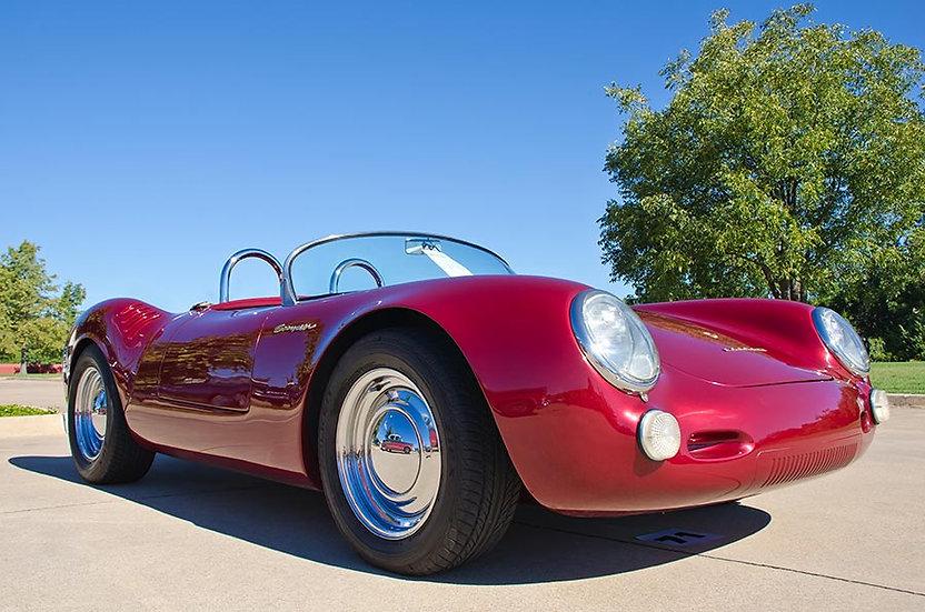 Efsane 1956 Porsche 550 Duvar Kağıtları   Tarihi Klasik Araba Duvar Kağıtları