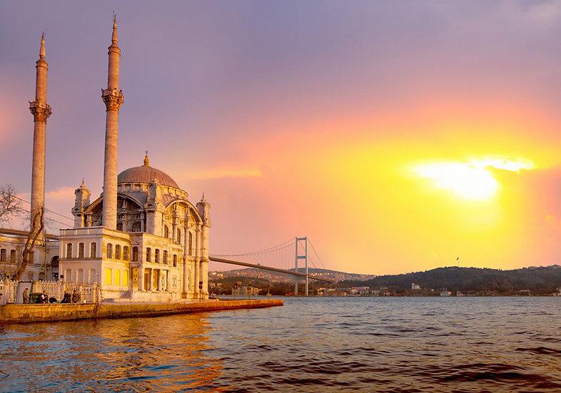 İstanbul Ortaköy Camii Duvar Kağıdı | Ortaköy Camii Manzaralı Duvar Kağıdı | İst