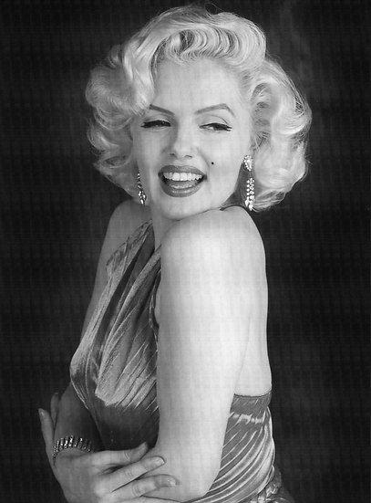 Siyah Beyaz Marilyn Monroe Duvar Kağıdı | Marilyn Monroe HD Duvar Kağıdı