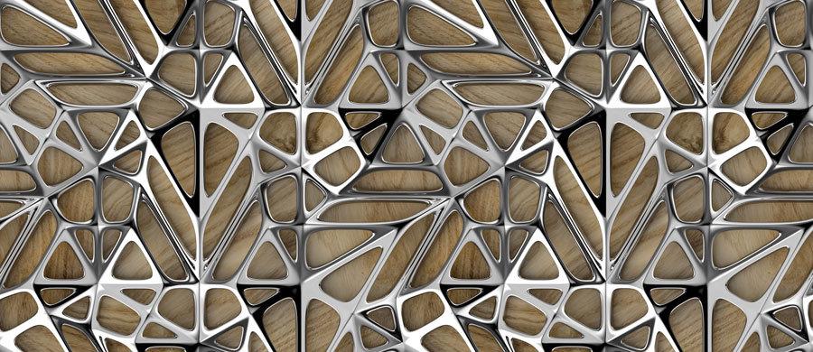 3D Gümüş Motifli Duvar Kağıtları   Gümü Desenler Duvar Kağıdı   İstanbul