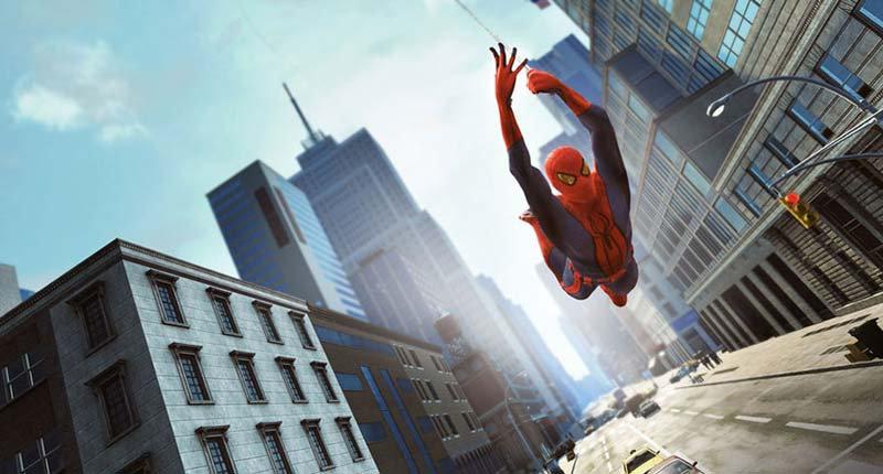 3D Spiderman Duvar Kağıdı | Örümcek Adam 3 Boyutlu Duvar Kağıtları