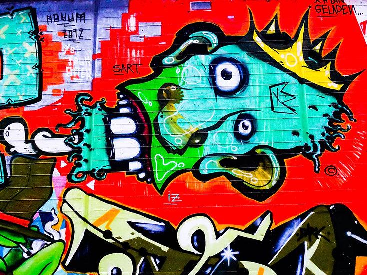 Graffiti Sokak Sanatı Duvar Kağıdı Modelleri | En Kaliteli Cafe Duvar Kağıtları