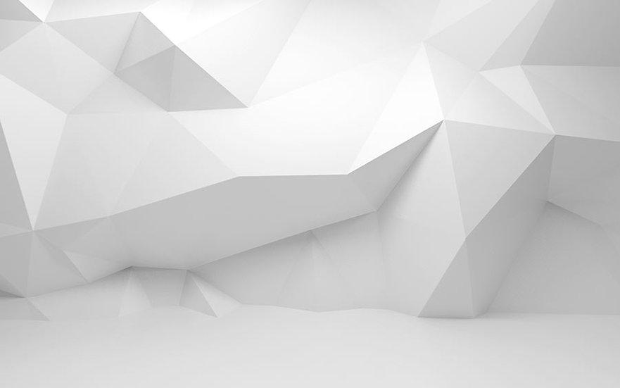 Dokulu Beyaz Hat Duvar Kağıdı   3 Boyutlu Kabartmalı Duvar Kağıtları