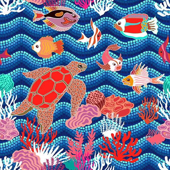 3 Boyutlu Tekstil Desen Duvar Kağıdı | HD Muhteşem Çocuk Odası Duvar Kağıtları