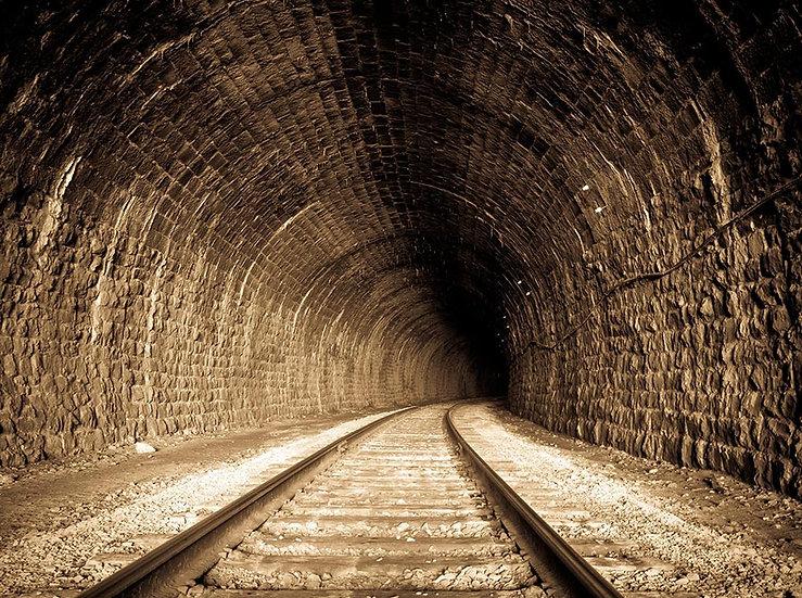 3 Boyutlu Tünel Duvar Kağıdı