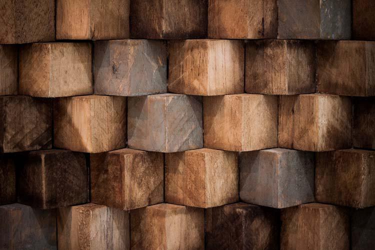 3 Boyutlu Ahşap Küpler Duvar Kağıdı | Küpler Duvar Kağıdı | Küp Duvar Kağıtları