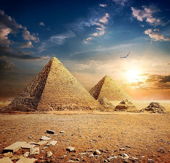 3 Boyutlu Mısır Piramitleri Duvar Kağıtları