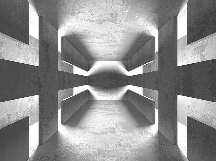 3D Tünel Duvar Kağıdı | 3 Boyutlu Duvar Kağıdı