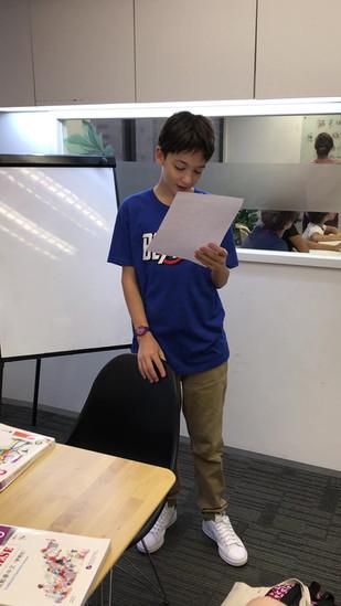 Intermediate Level Student's Speech