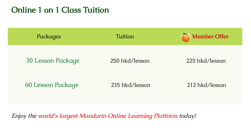 Online Class tuition