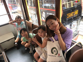 Summer Camp Outing Day, On our way to Sport Centre.JPG