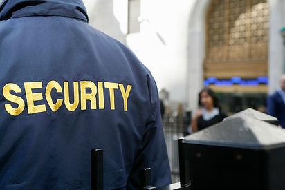 Security Guard working in Warrington