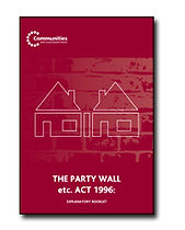 The Party Wall Act Booklet