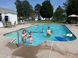 Our Pool on Memorial Day