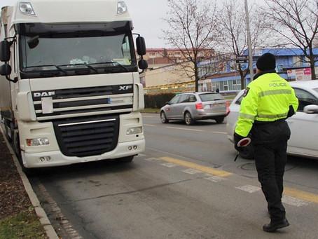 Nejčastější pokuty v EU pro řidiče vozidel nad 7,5 tuny
