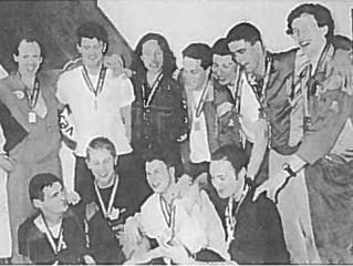 Gullaget fra 1992 med kongepokalen