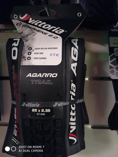 CUBIERTA AGARRO G2.0 4C TNT ANTRA/NEGRO (TRAIL)