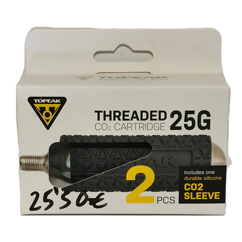 TOPEAK Threaded CO2 Cartridge 25G