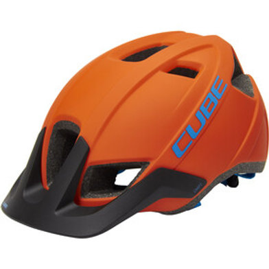 CUBE Casco CMPT orange´n´ blue