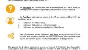 Pass'sport - communiqué de presse MEN