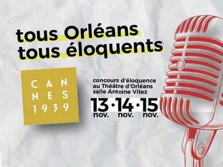 Une finaliste au concours d'éloquence d'Orléans