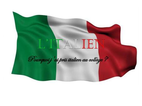 Classe bilangue Anglais-Italien