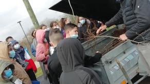Eco-quartier des Groues, les élèves vous racontent une nouvelle étape de leur contribution...