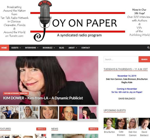 Joy On Paper Interview