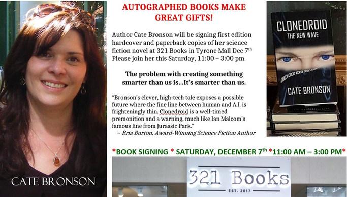 321 Books author signing