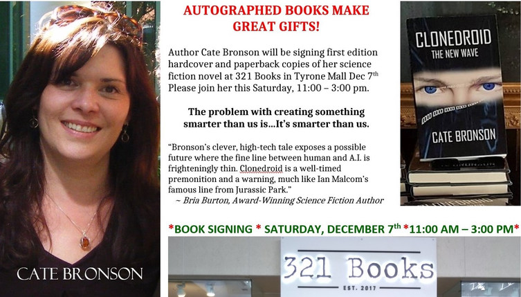 321 Books author signing