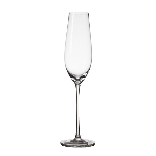 AYZ 19001 8 oz. Hand-made Champagne Flute Glass - 24/Case