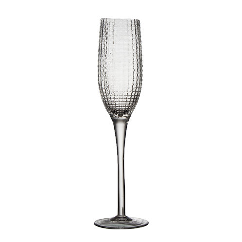 AYZ 19013 8 oz. Hand-made Champagne Flute Glass - 24/Case