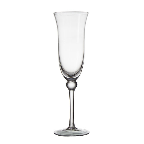 AYZ 19008-L 9 oz. Hand-made Champagne Flute Glass - 24/Case