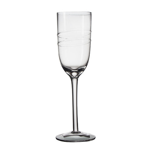 AYZ 19015 8 oz. Hand-made Champagne Flute Glass - 24/Case