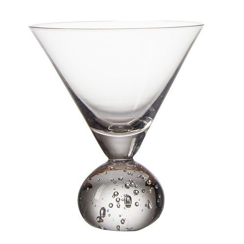 AYZ 18007 12 oz. Hand-made Cocktail / Martini Glass - 24/Case