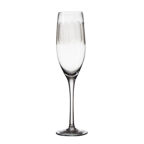 AYZ 19012 8 oz. Hand-made Champagne Flute Glass - 24/Case