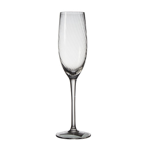 AYZ 19028 8 oz. Hand-made Champagne Flute Glass - 24/Case