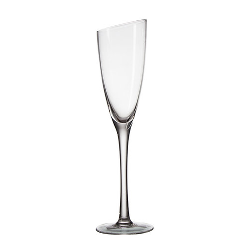 AYZ 19011 8 oz. Hand-made Champagne Flute Glass - 24/Case