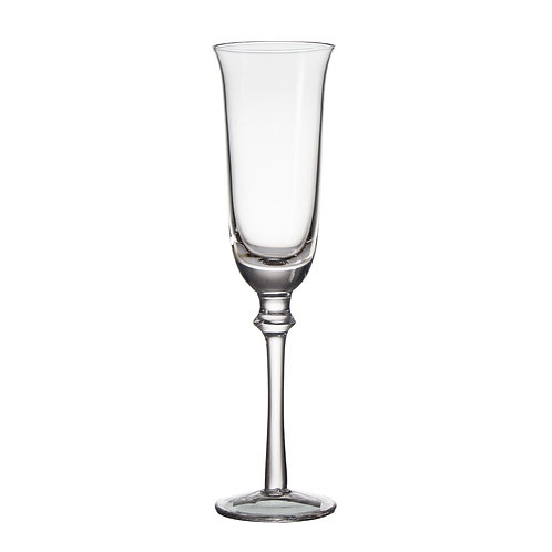AYZ 19009 8 oz. Hand-made Champagne Flute Glass - 24/Case