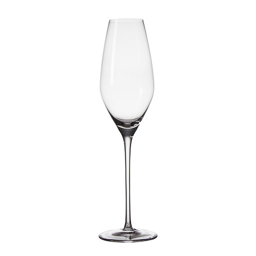AYZ 19005 8 oz. Hand-made Champagne Flute Glass - 24/Case