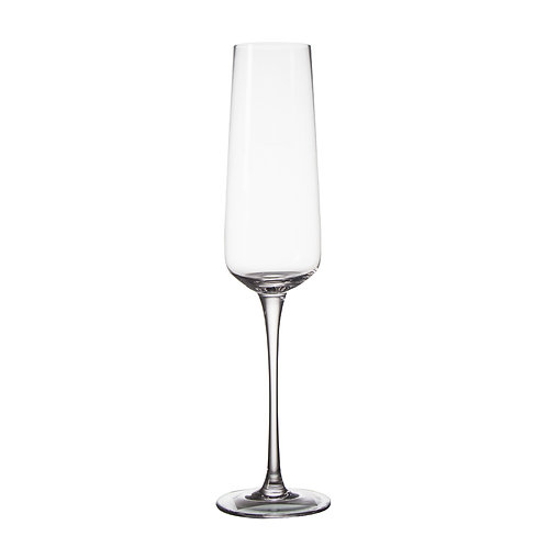 AYZ 19002 8 oz. Hand-made Champagne Flute Glass - 24/Case