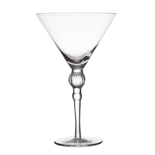 AYZ 18001 9.25 oz. Hand-made Cocktail / Martini Glass - 24/Case