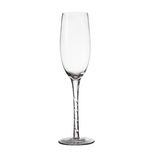 AYZ 19029 8 oz. Hand-made Champagne Flute Glass - 24/Case