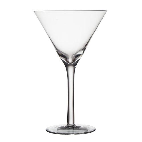 AYZ 18014 9.25 oz. Hand-made Cocktail / Martini Glass - 24/Case