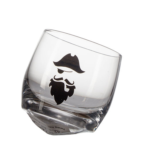 "AYZ 20027 10.5 oz. ""TUMBLER"" Hand-made Whiskey Glass - 24/Case"